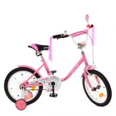 Детский двухколесный велосипед Y1681 Profi Flower 16 дюймов