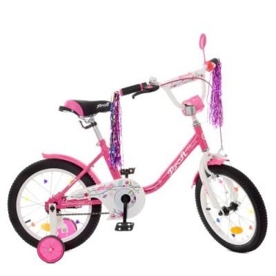 Детский двухколесный велосипед Y1682 Profi Flower 16 дюймов