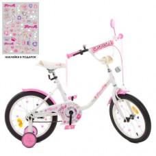 Детский двухколесный велосипед Y1685 Profi Ballerina 16 дюймов с фонариком