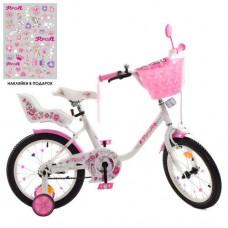 Детский двухколесный велосипед Y1685-1K Profi Ballerina 16 дюймов