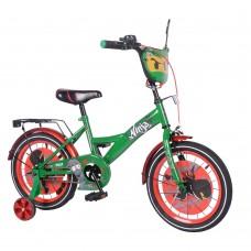 Детский двухколесный велосипед Tilly Ninja T-216216 16 дюймов