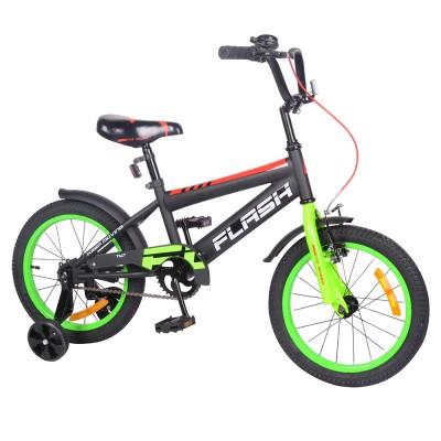 Детский двухколесный велосипед TILLY FLASH T-21647 16 дюймов