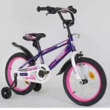 Детский двухколесный велосипед Corso EX-16 N 4282 16 дюймов