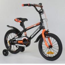 Детский двухколесный велосипед Corso ST-8022 с противоударными дисками 16 дюймов