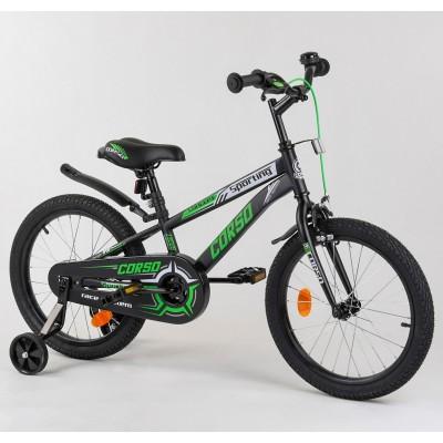 Детский двухколесный велосипед Corso R-18153 18 дюймов