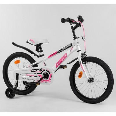 Детский двухколесный велосипед Corso R-18362 18 дюймов