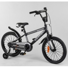 Детский двухколесный велосипед Corso ST-18912 18 дюймов с противоударными дисками