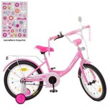 Детский двухколесный велосипед XD1811 Profi Princess 18 дюймов