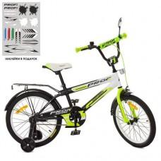 Детский двухколесный велосипед SY1854 Profi Inspirer 18 дюймов