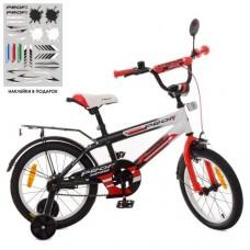 Детский двухколесный велосипед SY1855 Profi Inspirer 18 дюймов