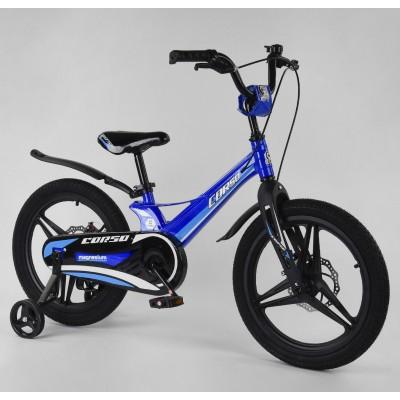 Детский двухколесный велосипед Corso MG-18806 магниевая рама, дисковые тормоза 18 дюймов
