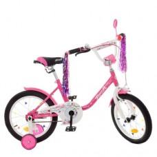 Детский двухколесный велосипед Y1882 Profi Flower 18 дюймов