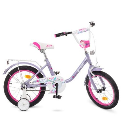 Детский двухколесный велосипед Y1883 Profi Flower 18 дюймов