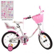 Детский двухколесный велосипед Y1885-1K Profi Ballerina 18 дюймов