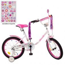 Детский двухколесный велосипед Y1885 Profi Flower 18 дюймов