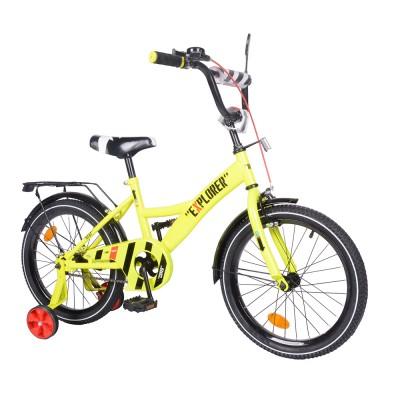 Детский двухколесный велосипед EXPLORER T-218112 18 дюймов