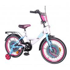 Детский двухколесный велосипед TILLY Fancy T-218214 18 дюймов
