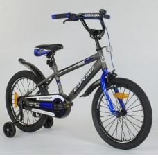 Детский двухколесный велосипед Corso ST-3102 с противоударными дисками 18 дюймов