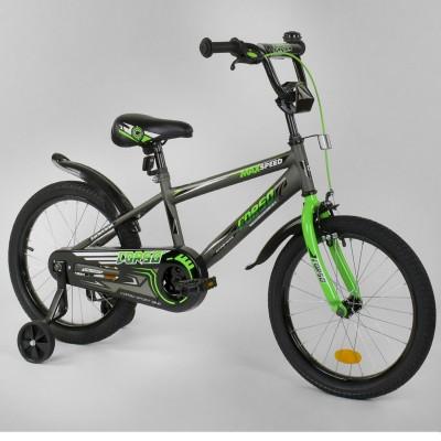 Детский двухколесный велосипед Corso EX-18 N 3305 18 дюймов