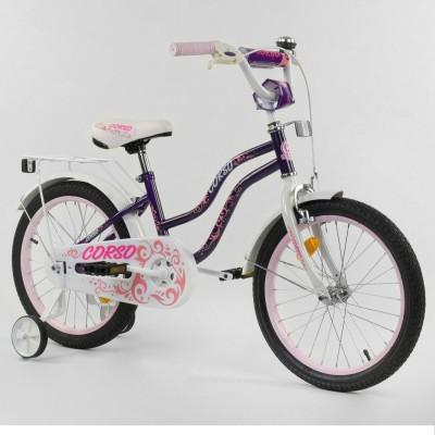 Детский двухколесный велосипед Corso T-21255 16 дюймов
