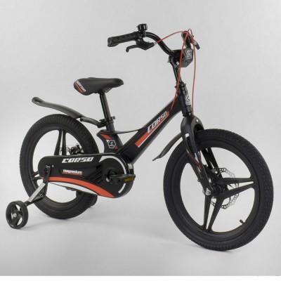 Детский двухколесный велосипед Corso MG-95796 магниевая рама, дисковые тормоза 18 дюймов