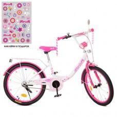 Детский двухколесный велосипед XD2014 Profi Princess 20 дюймов