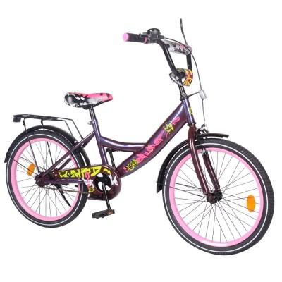 Детский двухколесный велосипед EXPLORER T-220116 20 дюймов