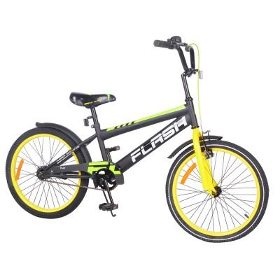 Детский двухколесный велосипед TILLY FLASH T-22047 20 дюймов