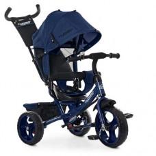 Детский трехколесный велосипед Turbo Trike М 3113-11L Синий  Лён