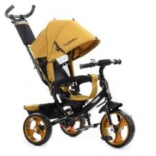 Детский трехколесный велосипед Turbo Trike M 3113-24 Горчичный