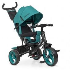 Детский трехколесный велосипедM 3113-4-1 Зеленый