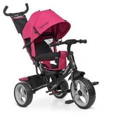 Детский трехколесный велосипед Turbo Trike M 3113-6 Розовый