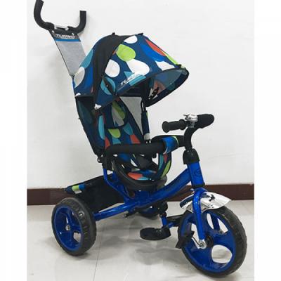 Детский трехколесный велосипед M 1350-5-D Синий