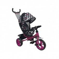 Детский трехколесный велосипед M 1350-6-D Сиреневый