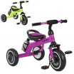 Детский  трехколесный велосипед Turbo Trike M 3648-2 со светящимися колесами