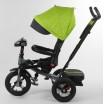 Детский трехколесный велосипед 6088 F -08-226 Best Trike с USB поворотное сидение + пульт САЛАТОВЫЙ