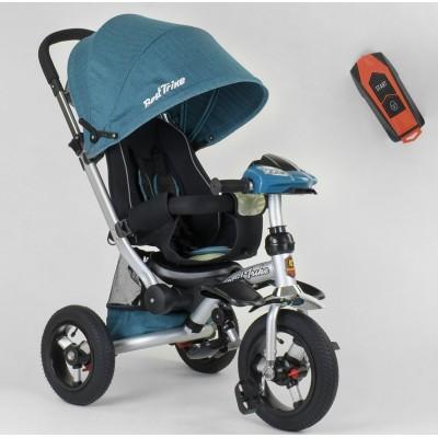 Детский трехколесный велосипед Best Trike 698-30-505 с USB БИРЮЗОВЫЙ