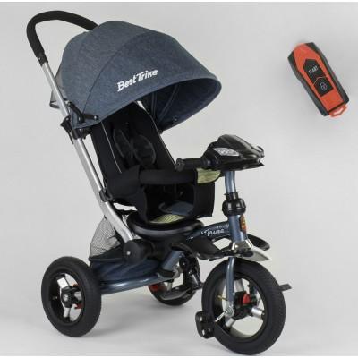 Детский трехколесный велосипед Best Trike 698-33-017 с USB ДЖИНС