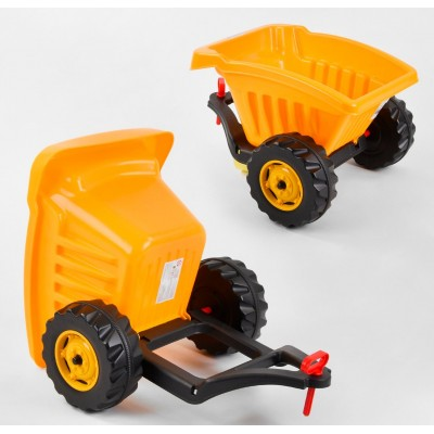 Прицеп к педальным тракторам 07-317 Желтый