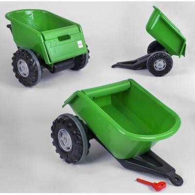 Прицеп к педальным тракторам 07-295 Зеленый
