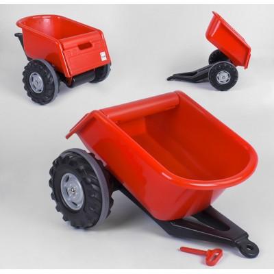 Прицеп к педальным тракторам 07-295 Красный