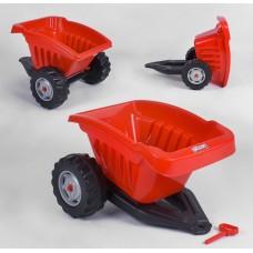 Прицеп к педальным тракторам 07-317 Красный