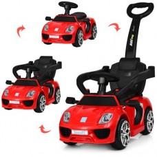 Детский электромобиль толокар 2в1 M 3592L-3