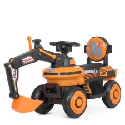 Детский трактор с ковшом M 4616L-7 (2в1)