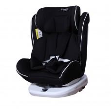 Детское автокресло CARRELLO Dynamic CRL-13802 ISOFIX Cosmos Black (0-36 кг) с поворотом