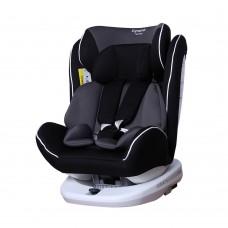 Детское автокресло CARRELLO Dynamic CRL-13802 ISOFIX Carbon Grey (0-36 кг) с поворотом