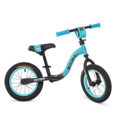 Детский беговел велобег Profi Kids 1201-8 резиновые колеса 12 дюймов