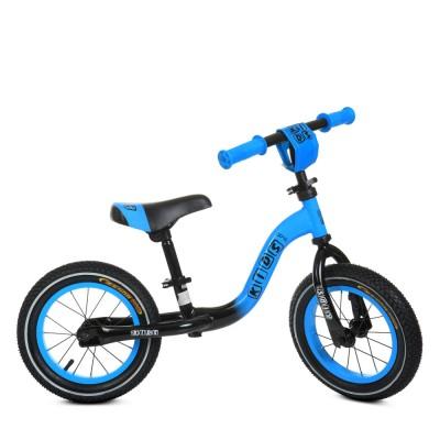 Детский беговел велобег Profi Kids 1201a-3 резиновые колеса 12 дюймов