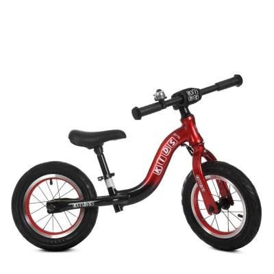 Детский беговел велобег Profi Kids 1203a-1 резиновые колеса 12 дюймов