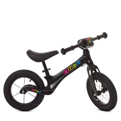 Детский беговел велобег Profi Kids SMG1205a-1 резиновые колеса 12 дюймов